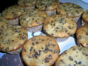Birnen-Schoko-Muffins - Rezept