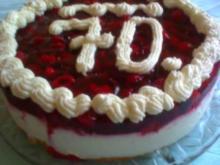 Himbeer-Jogurt -Torte - Rezept