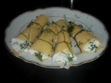 Käse-Kräuter-Snack - Rezept