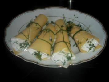 Rezept: Käse-Kräuter-Snack