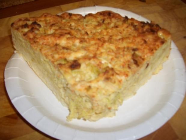 Wirsing-Käse-Quiche - Rezept