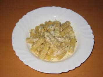 Tortiglioni (Nr. 83) mit Gorgonzolasauce - Rezept