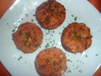 Spaghetti-Gemüse-Muffins - Rezept