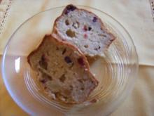 Apfelkuchen mit Cranberries - Rezept