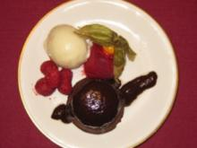 Brownies und Sorbet - New York - Rezept