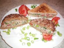 Thunfisch - Sandwich - Rezept