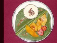 Karamellisiertes Obst mit Kokoscreme - Rezept - Bild Nr. 15