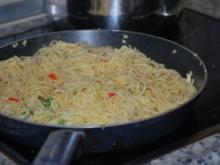 Spaghetti aglio olio peperoncino - Rezept