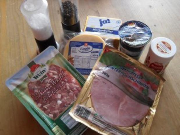 Party-Schinken-Käse Brötchen - Rezept - Bild Nr. 2
