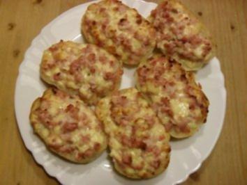 Rezept: Party-Schinken-Käse Brötchen