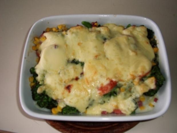 Bunter Brokkolie-Kartoffel-Auflauf - Rezept