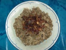 Linsen mit Reis, Mjadarrat Ros - Rezept