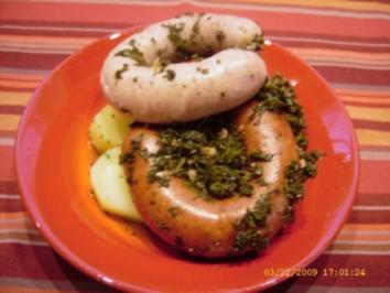 Grünkohl mit Bregenwurst aus Omas Küche - Rezept