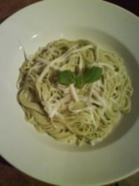 Pasta mit Basilikum-Carbonara - Rezept