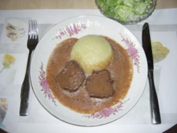 Delikatess-Sauerbraten aus Pferdefleisch *Pferdefleisch - Rezept