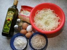 Zwiebel-Käse-Puffer - Rezept