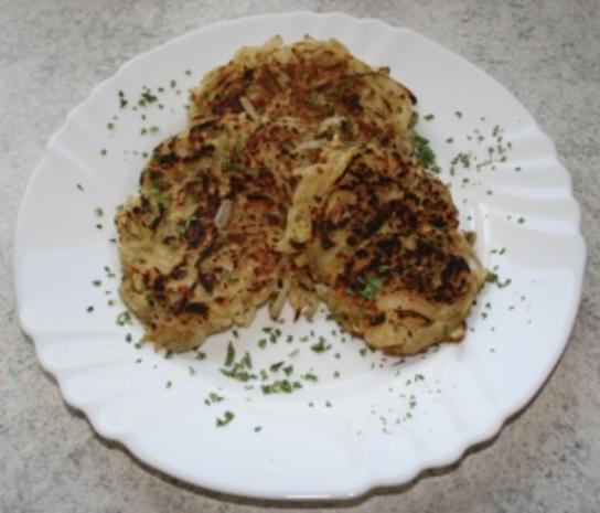 Zwiebel-Käse-Puffer - Rezept - Bild Nr. 2