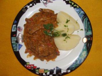 Fleisch - Boeuf Stroganoff - - Rezept