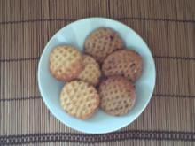 Peanut-Blossom-Cookies – amerik. Art - Rezept