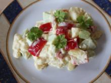Kartoffelsalat mit Schmand - Rezept