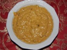 Dip: Curry-Mandelsoße (Grill und Fondue) - Rezept