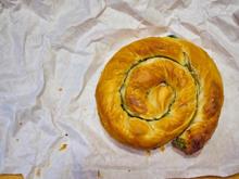 Spinat-Käse-Pita (Burek) - Rezept - Bild Nr. 2