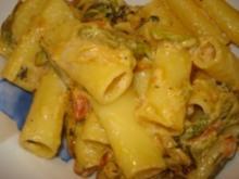 Pasta Zucchini Version 2 - Rezept