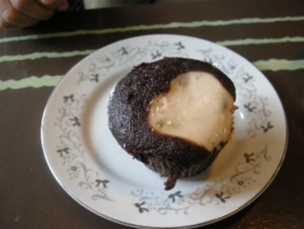 Allerbeste Double Chocolate Cheese Muffins♥ - Rezept