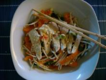 Asiatischer Hähnchensalat - Rezept
