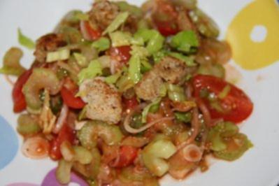 Spanischer Tomatensalat - Rezept
