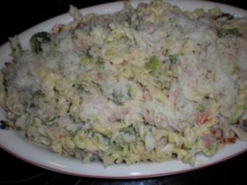 Schinken-Broccoli-Auflauf - Rezept