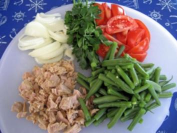 Tomatensalat mit Bohnen und Thunfisch - Rezept