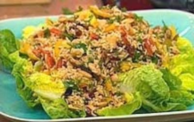 Rezept: Orientalischer Reissalat