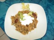 Würziges Reisgericht ~ Ros Kabse - Rezept