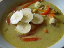 Fischsuppe mit chinesischem Tatsch! - Rezept