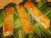 Asiatisch: Wasabi-Gemüse-Röllchen - Rezept