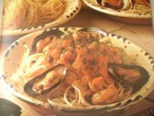 Spagetti mit Venusmuscheln - Rezept