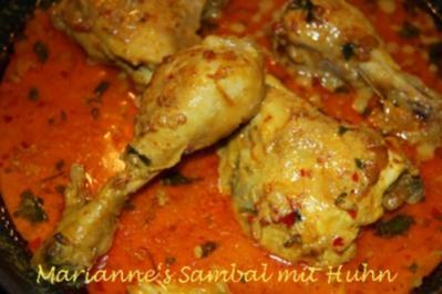 Rezept: Sambal mit Huhn