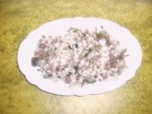Hack-Reispfanne - Rezept
