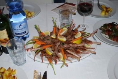 Marinierte Lammkotelettes - Rezept