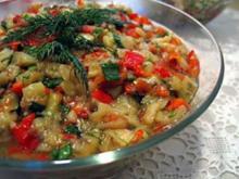 Patlican Salatasi - Rezept