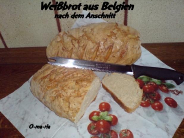 Brot ~ Weißbrot aus Belgien - Rezept