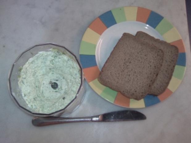 Porree auf's Brot - Rezept