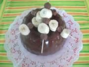 Bananen-Rolo-Napfkuchen - Rezept