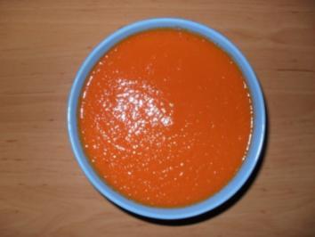 Einfache Tomatensuppe - Rezept