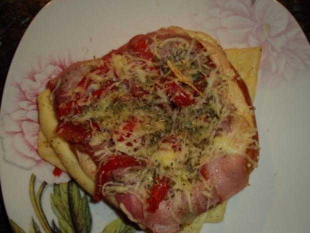 Pizzabreze - Rezept