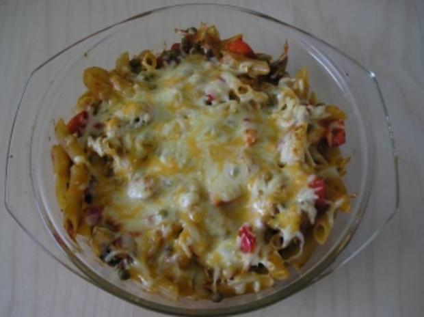 Nudel-Gemüse-Auflauf - Rezept