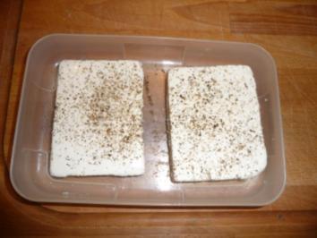 gebackener Schafskäse - Rezept