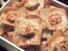 erster gang ravioli mit ricotta - Rezept