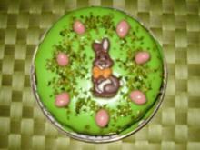 Osterkuchen - Mini - mit Dekoration - Rezept